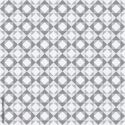 white grey square design pattern stock vector