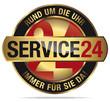 Service24 - Rund um die Uhr - Immer für Sie Da!