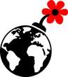 Guerilla Gardening - Blumen Bombe - Erde