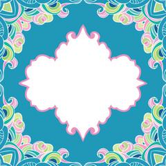 seamless frame pattern