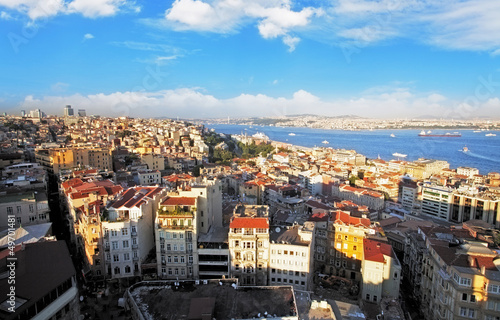 Leinwand Poster Istanbul Panorama, Türkei