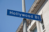 hollywood boulevard cartello a Los Angeles