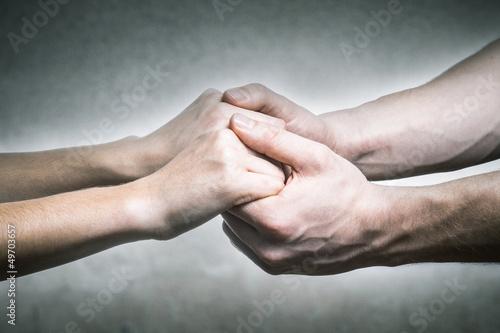 Ich halte deine Händchen