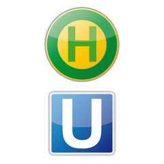 Haltestelle,U-Bahn, button, icon, App, template
