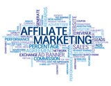 AFFILIATE MARKETING Tag Cloud (ad banner website)