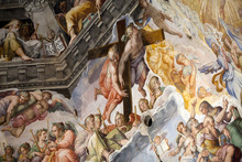 "Постер, картина, фотообои ""Florence - Duomo .The Last Judgement. Inside the cupola"""