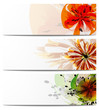header vector flowers
