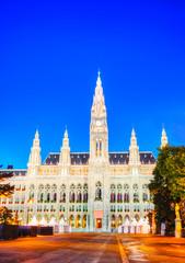 Rathaus (City hall) in Vienna