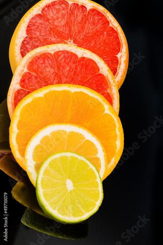 Orangenscheiben