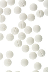 Weiße Tabletten