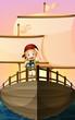 A pirate girl
