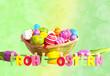Bokeh Frohe Ostern