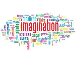 Nuage de Tags IMAGINATION (créativité esprit réflexion vision)