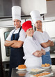 Team Of Confident Chefs