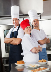 Team Of Confident Chefs