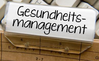 Gesundheitsmanagement