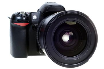 DSLR Spiegelreflexkamera freigestellt