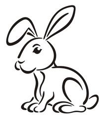 Rabbit graphic