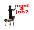 woman drawing  need a job