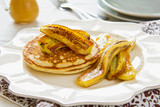 Pancake with banana