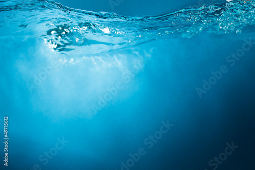 blue water abstract background © Tim UR