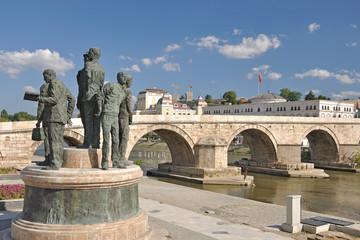 The new look of Skopje City, Macedonia
