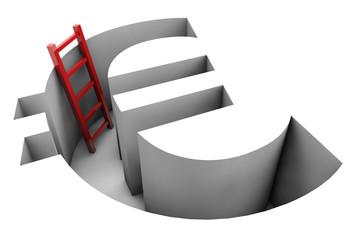 Euro - Red ladder