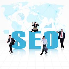 Business global SEO
