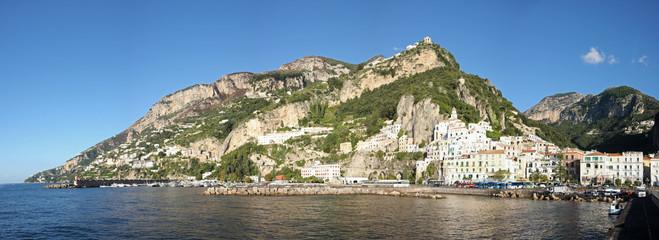 Panorama sur Amalfi