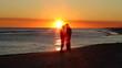 Retirees Romance Sunset
