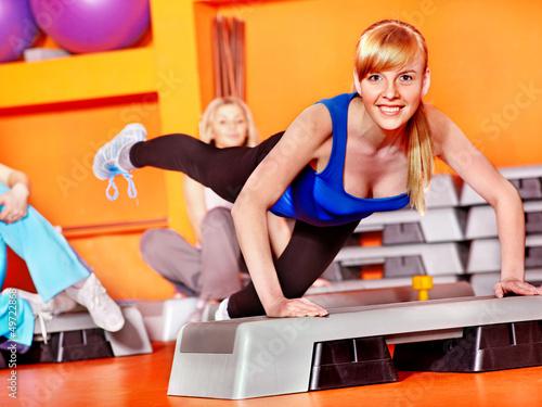 Fototapeten,frau,mädchen,sport,aerobic