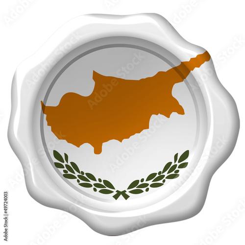 Wachssiegel Zypern