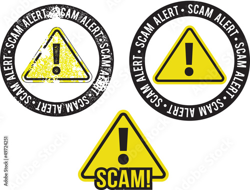 Scam Alert Crime Warning