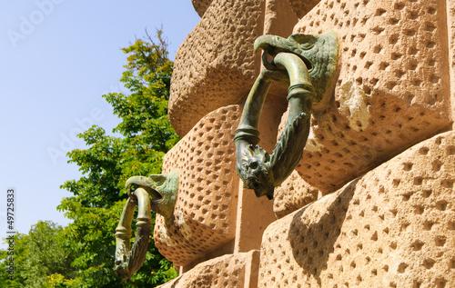 Tie Ring on Wall, Alhambra, Granada, Spain