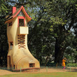 The giant Shoe House for children in Hanging Gardens