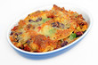 tex mex bake with tacos - Tex-Mex Auflauf mit Tacos