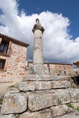 Pillory in San Millan de Lara, Burgos Province, Spain