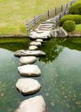 Stone zen path - 49728403