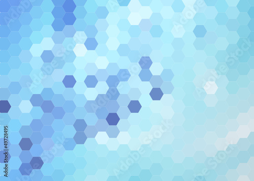 blue bright abstract  background