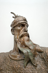 Head Sculpture Of Skanderbeg, Kruja