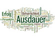 Ausdauer (Anstrengung, Überwindung, Motivation, Training)
