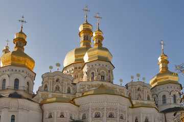 Assumption (Uspensky) temple in Pecherska Lavra, Kiev