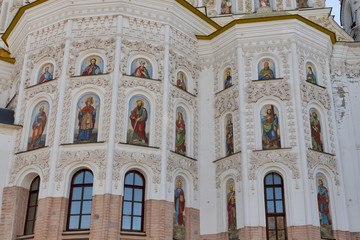 Fresco of Assumption (Uspensky) temple in Pecherska Lavra, Kiev