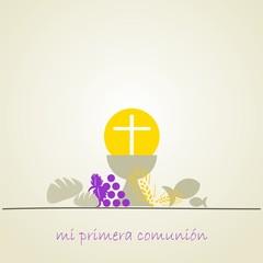 MI PRIMERA COMUNION