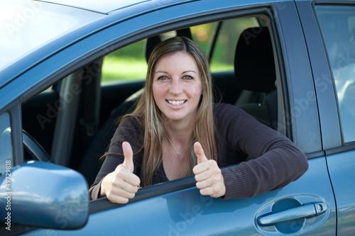 Erfolg beim Autofahren