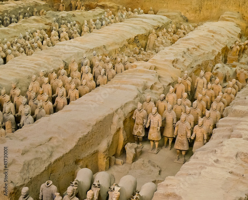 Poster Xian Terracotta army