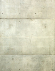 Plain concrete wall
