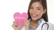 Medical Health Care - Doctor showing heart sign