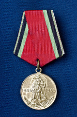 Medal in honor of the anniversary of the Victory in the Second W