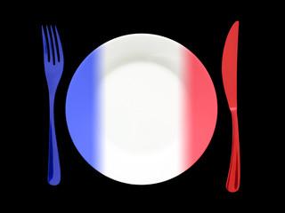 assiette française